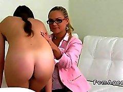 Fransman amatören har lesbisk gjutning