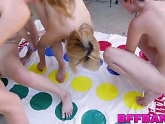 Dirty teens start the summer right with some sex party