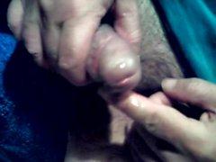 Sonda com o meu dedo e barra de 15mm