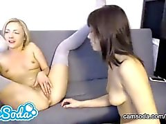 hot teen lesbians massage pussies and eat pussy until orgasm
