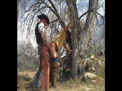 Cowboy Outdoor Fuck