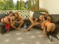 Monica Moore, Sandra Russo, Zita and Monica Sweetheart