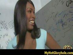Ebony gloryhole blowjob 31