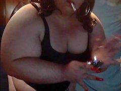 BBW Sissy Diane Bra,Corset,Panty Smoke For Master