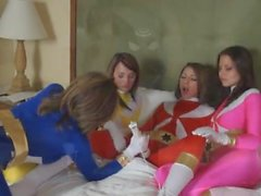Charlie Laine, Cali Logan, Emily Addison and Lexi