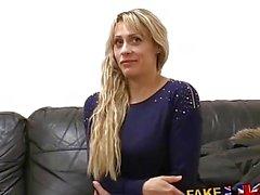 FakeAgentUK Spunk gargling Czech fucks agent