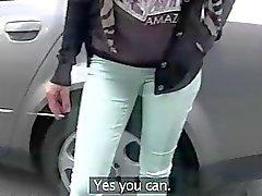 Di Emily viene scopata da una falsificazione agenti modello