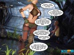 3D Comic: Echo. Episode 3