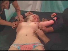 Little French Girl Tickle BleuFetish