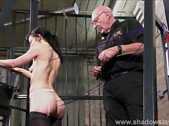 Slave Elise Graves needle bdsm