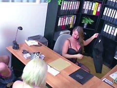 Женский Casting агентов ебать от молодой германского Подростка парой