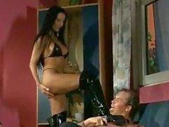 Kinky Sex In Latex Lingerie