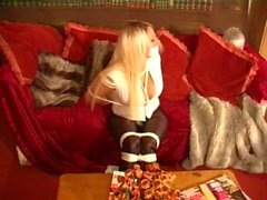 Dannii Harwood Bound and Gagged