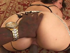 Bobbi Starr gets a black shaft
