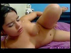 MFC lu lu chu teen latina rubs pussy. Miss this sexy girl