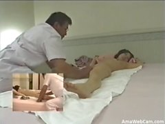 Japanese massage roomhidden cam