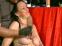 Humiliated british slavegirl in needle pain