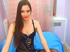 Cutie gf in lingerie hot striptease