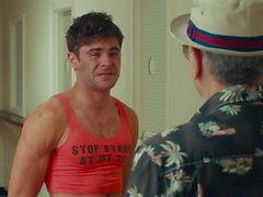 Zac Efron sexy scenes in 'Dirty Grandpa'