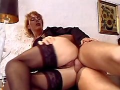 Mature Bbw Gets Her Holes Pounded