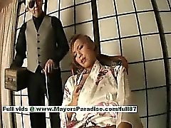 Kei horny japanese babe maid shows off her juicy pussy