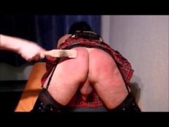 Spanking realtime and slowmotion