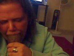 vacker kvinna slobberknocker