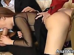 Hot German Hooker With Two Men In A Threesome