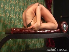 Extreme Contortionist Olesya On The Bench