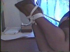 Busty secretary bound and gagged