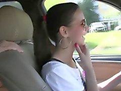 Girlfriends Three brunettes outdoor fun part one