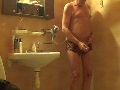 Norwegian daddy in the shower - 2015