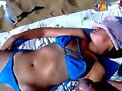 Dickflash - Ninja cum on sunbathing girl