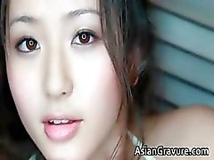 Incredible real asian model posing her part2