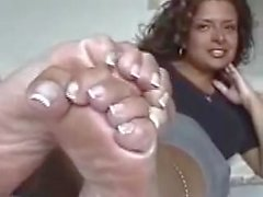 Raven French Pedicure Feet