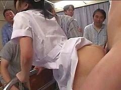 Infirmière du Japon se faire ruiner et creampied plusieurs fois