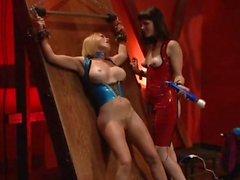 Krissy Lynn in femdom fun with Bobbi Starr and pal
