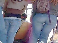 Great ass in bus