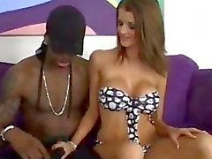 Joslyn James takes on a black guy