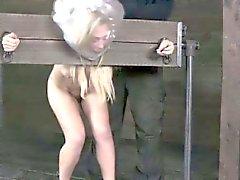 Legato Blonde sotto asfissiato