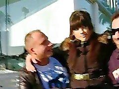 Sexy Carol Vega pounded with stranger