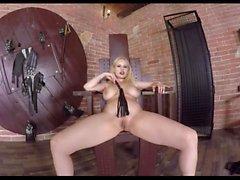 Blonde Mistress Tease