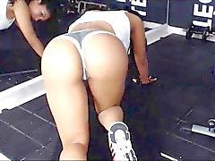 Fat Ass Hot Latina workout Part 2