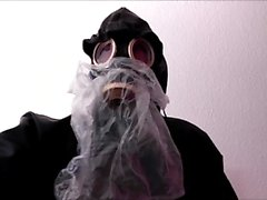 Rubber Gasmask Bag Breathplay