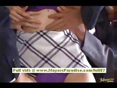 Марии Ozawa Китайская девочка трахается с двух парней на пляже