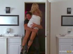 Britney Shannon double fucked by security