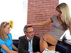 Spooning Sexual con l'insegnante