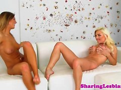 Gorgeous girlfriend sixtynines in sensual duo