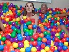 DareDorm - College sex in the ball pit