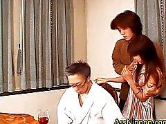 Dped en Creamed Aziatische Porno Clip